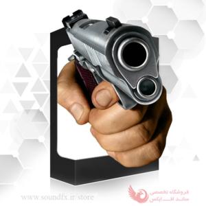 صدای شلیک با اسلحه