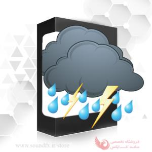 افکت صدای بارش باران و رعد و برق