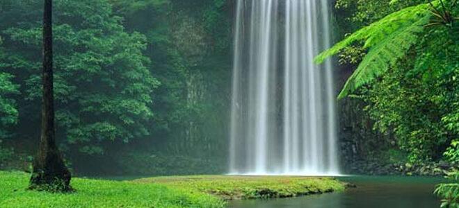 افکت صدای آبشار و شرشر آب