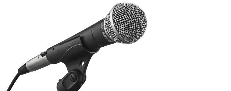 صدای نویز میکروفون و اکو باند