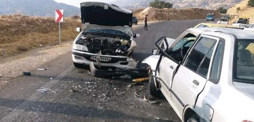 صدای تصادف و ترمز ماشین