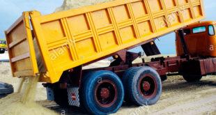 افکت صدای کامیون کمپرسی و خدمات شهری