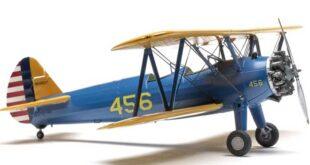 صدای هواپیمای ملخی biplane stearman