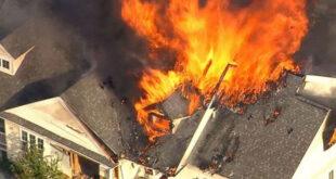 صدای انفجاری کلبه | تخریب