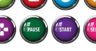 افکت صوتی طراحی دکمه بازی