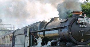 صدای قطار بخار