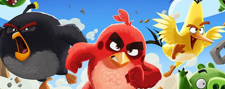 افکت صوتی بازی پرندگان خشمگین