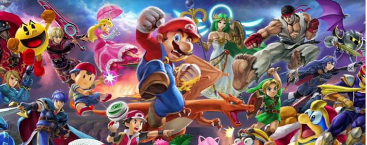 جلوه های صوتی بازی Super Smash Bros