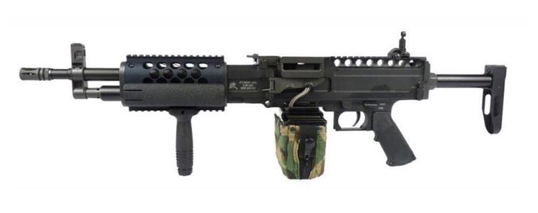 صدای اسلحه Light Machine Guns