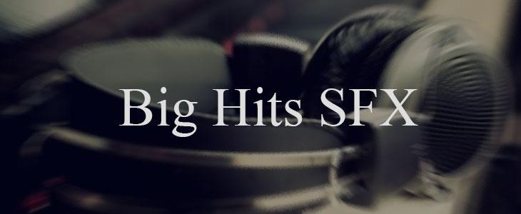 دانلود جلوه های صوتی سینمایی ( Big Hits )