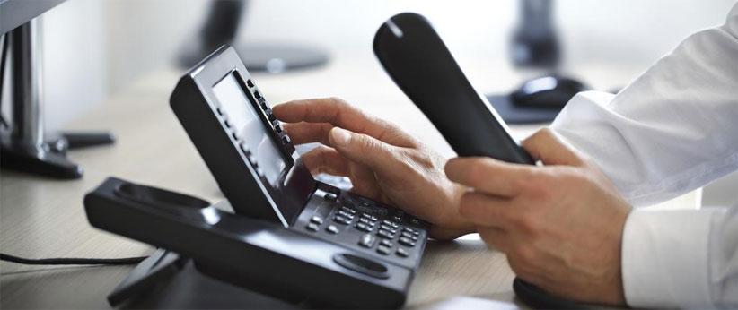 صدای منشی تلفن برای پیغام گیر